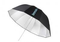 Parabolický deštník 145 cm Silver